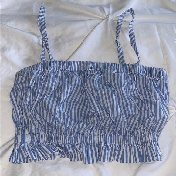 Forever 21 Tops - Striped crop top